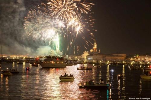 fuochi d'artificio- Bacino San Marco. Venezia