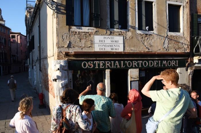Calle del tour letterario