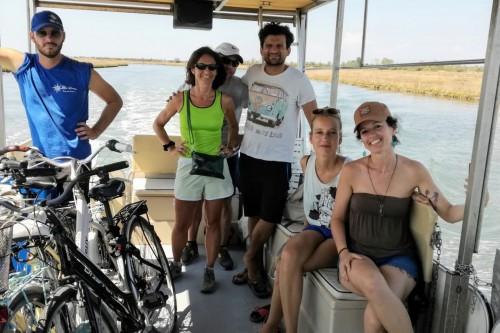 Girolaguna: tour in bici e barca in laguna nord di Venezia