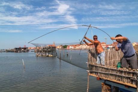 pescaturismo a venezia